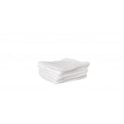 Comprese pliate in 8 straturi, 5 cm x 5 cm, din tifon hidrofil, 100 comp./blister, sterile