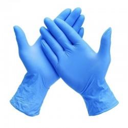 Manusi nitril albastre 200 bucati Maxter marimea L