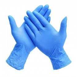 Manusi nitril albastre 200 bucati Maxter marimea M