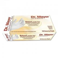 Manusi latex nepudrate Dr. Mayer marimea L albe