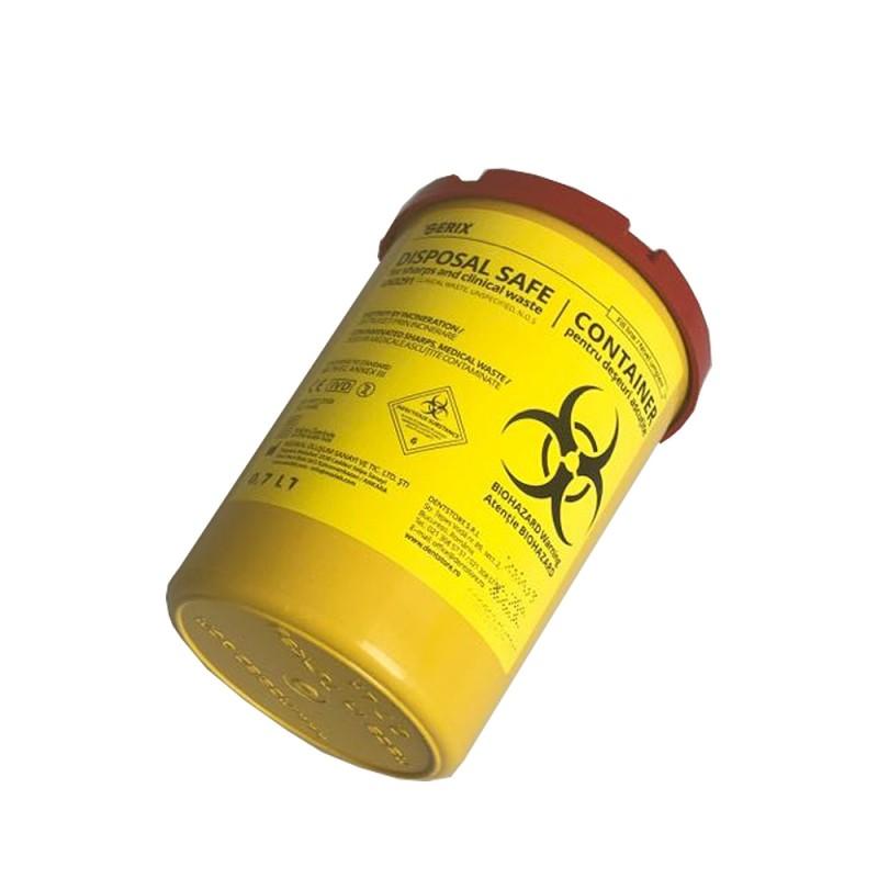 Container deseuri medicale ascutite 0.7l SERIX