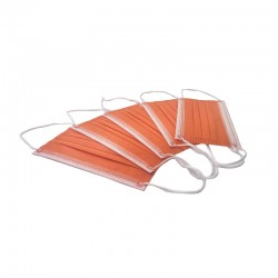 Masca medicala 4 straturi Orange Dr. Mayer