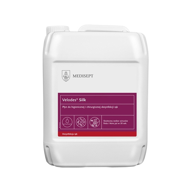 Dezinfectant maini Velodes Silk 5L