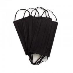 Masca medicala 4 straturi neagra Dr. Mayer 50 buc