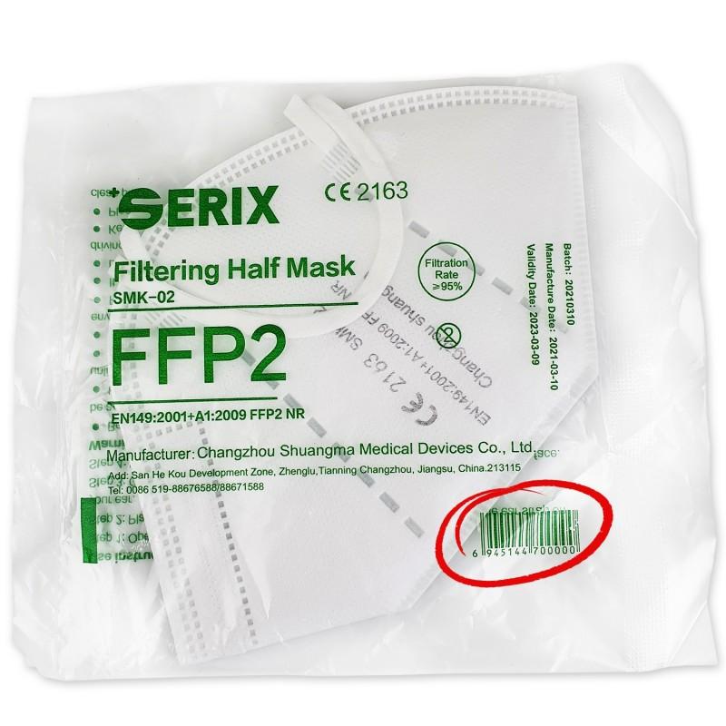 FFP2, Masca Protectie 5 Straturi, alba, 1,50 RON / buc