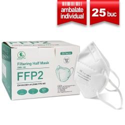 Masca protectie FFP2 SERIX 5 Straturi (25 buc ambalate individual)