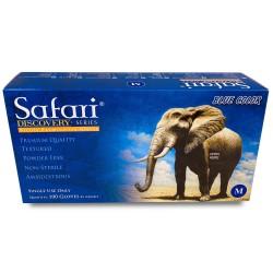 Manusi Nitril Nepudrate Safari Blue M 100 buc