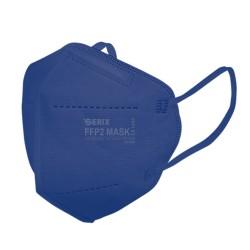 Masca Protectie 5 Straturi FFP2 KN95 Albastru Marin 1 Buc
