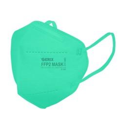 Masca Protectie 5 Straturi FFP2 KN95 Verde Marin 1 Buc