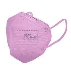 Masca Protectie 5 Straturi FFP2 KN95 Rosie 1 Buc