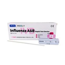 Test Rapid Gripa Influenza A&B Realy Tech Nazofaringian 1 Buc