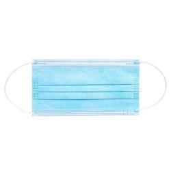 Masca Medicala 3 Straturi Tip IIR Albastra 50 Buc