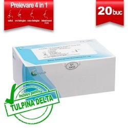 Test Antigen 4 in 1 (saliva+nazal) COVID-19 Easy Diagnosis Set 20 buc
