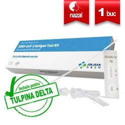 Test COVID-19 Antigen Nazofaringian Jinjian 1 Buc Recunoscut DSP 1759