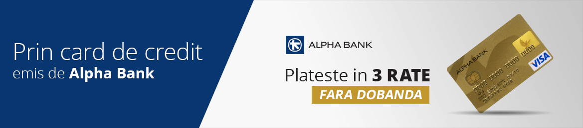 Prin card de credit emis de Alpha Bank